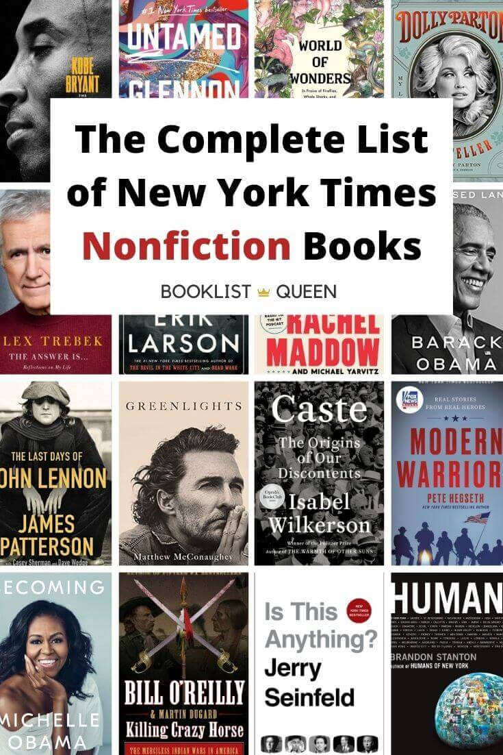 New York Times Nonficion Best Sellers