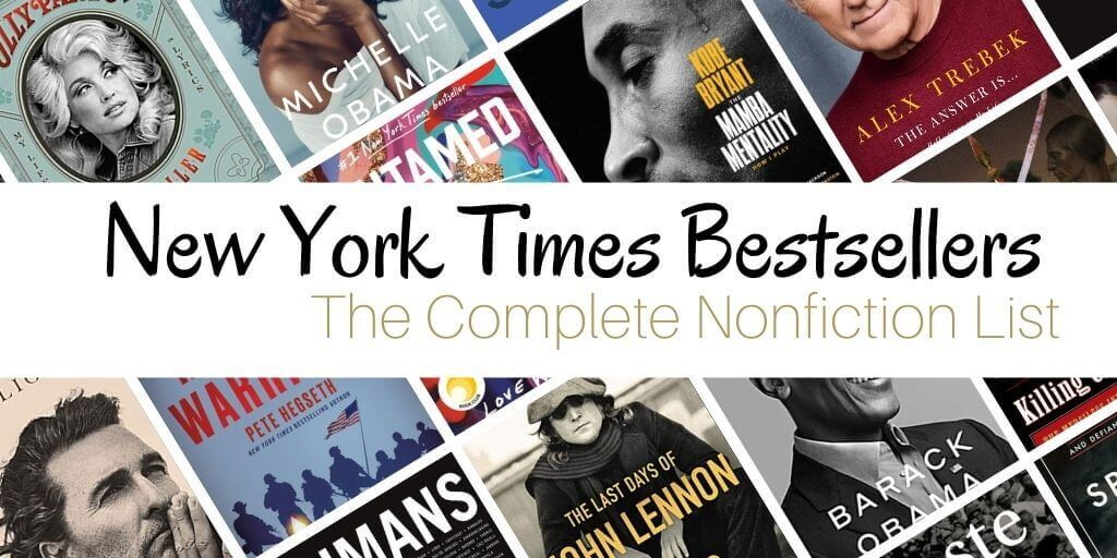 New York Times Nonfiction Best Sellers