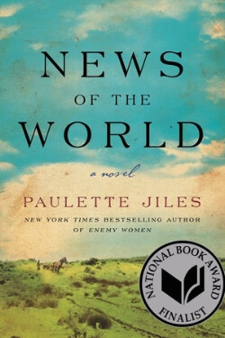 book cover News of the World by Paulette Jiles