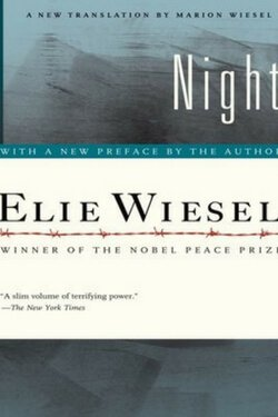 book cover Night by Elie Wiesel