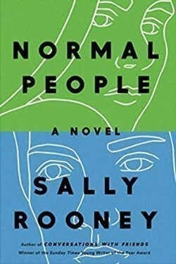 book cover Normal People by Sally Rooney