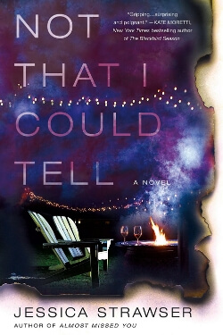 book cover Not That I Could Tell by Jessica Strawser