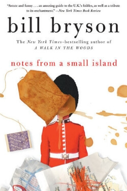 book cover Notes From a Small Island by Bill Bryson
