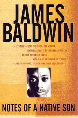 book cover Notes of a Native Son by James Baldwin