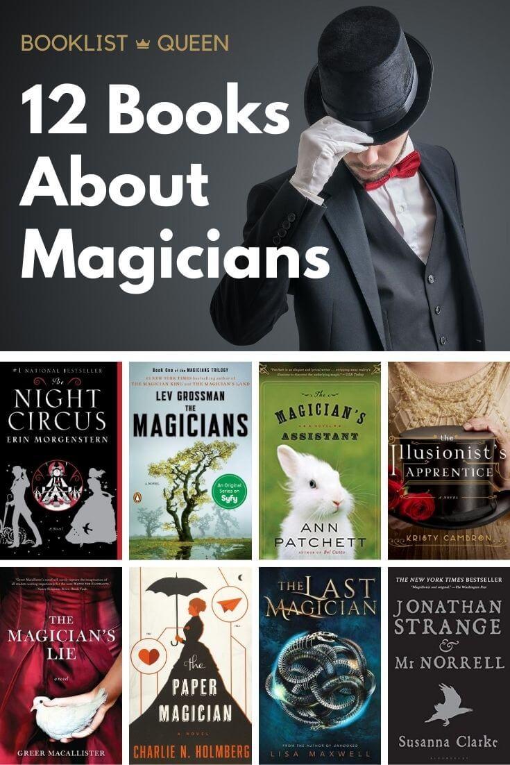 12 Novels About Magicians