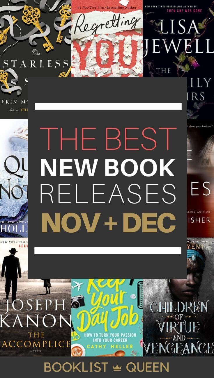 November December 2019 Book Releases