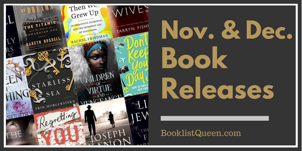 November & December 2019 Book Releases