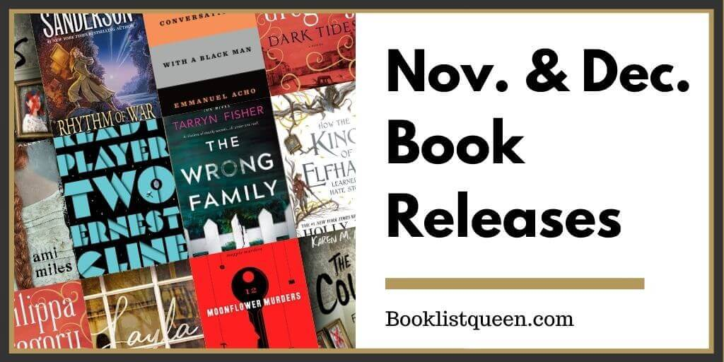 November 2020 and December 2020 Book Releases