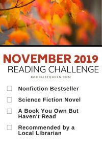 November 2019 Reading Challenge
