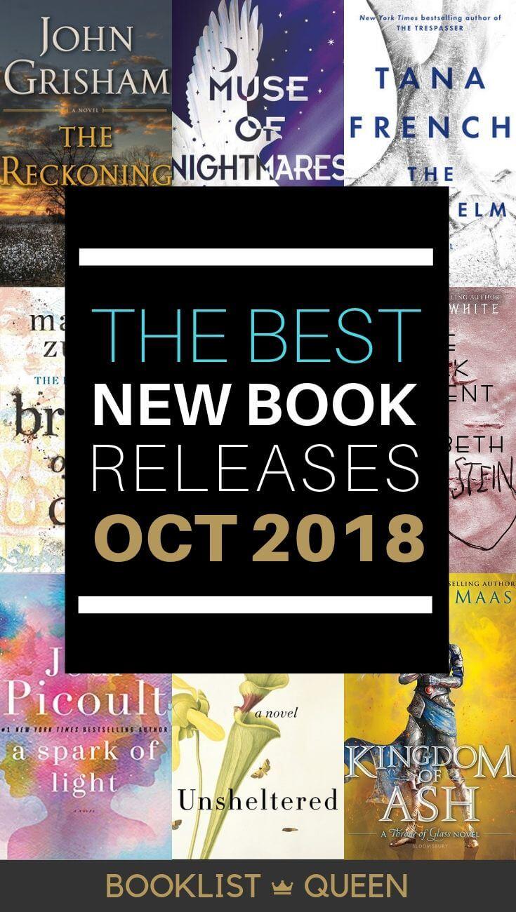 October 2018 Book Releases