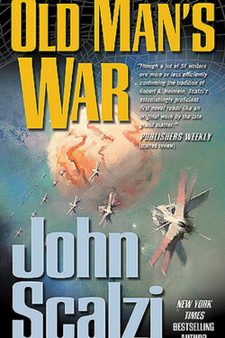book cover Old Man's War by John Scalzi