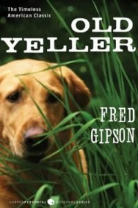 book cover Old Yeller by Fred Gipson