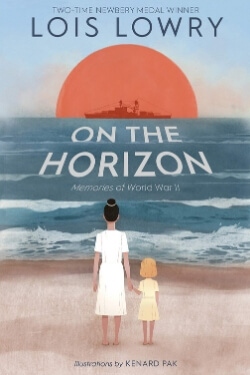 book cover On the Horizon by Lois Lowry