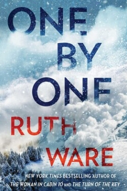 book cover One by One by Ruth Ware