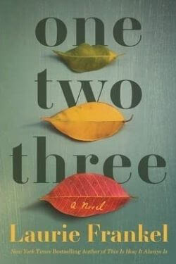 book cover One Two Three by Laurie Frankel