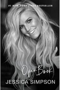 book cover Open Book by Jessica Simpson