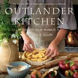 book cover Outlander Kitchen by Therese Carle-Sanders and Diana Gabaldon