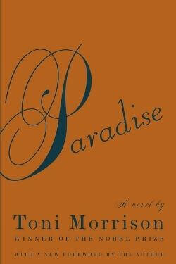book cover Paradise by Toni Morrison
