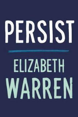 book cover Persist by Elizabeth Warren
