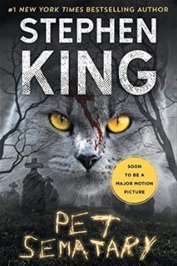 book cover Pet Sematary by Stephen King