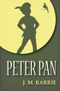 book cover Peter Pan by J. M. Barrie
