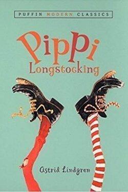 book cover Pippi Longstocking by Astrid Lindgren