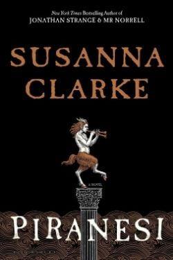 book cover Piranesi by Susanna Clarke