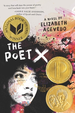 book cover Poet X by Elizabeth Acevedo