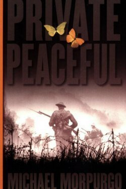 book cover by Private Peaceful by Michael Morpurgo