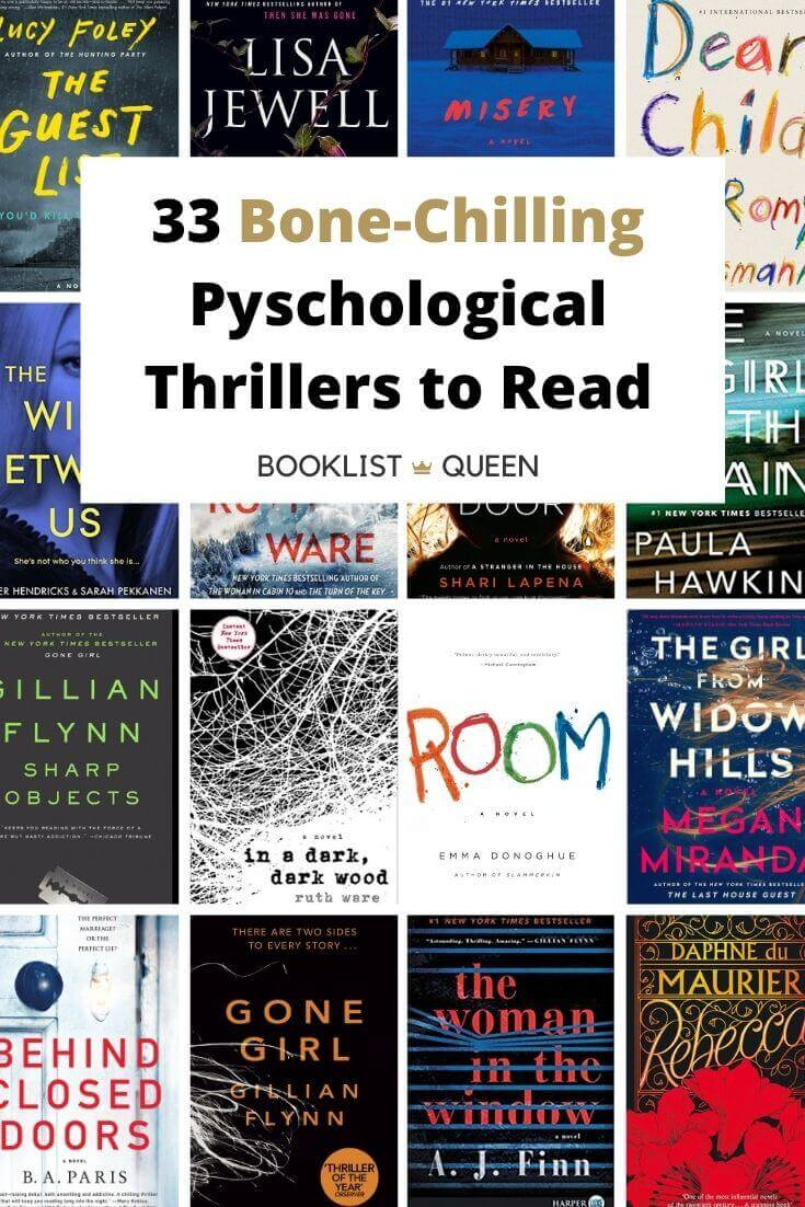 33 Bone-Chilling Psychological Thriller Books