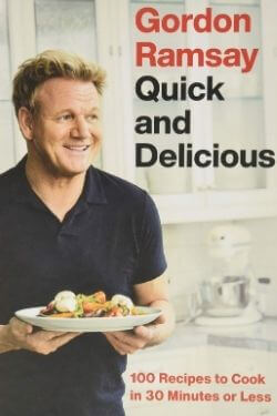 book cover Quick and Delicious by Gordon Ramsay