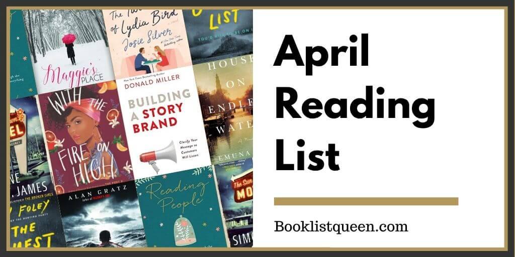 Reading Lately April 2020
