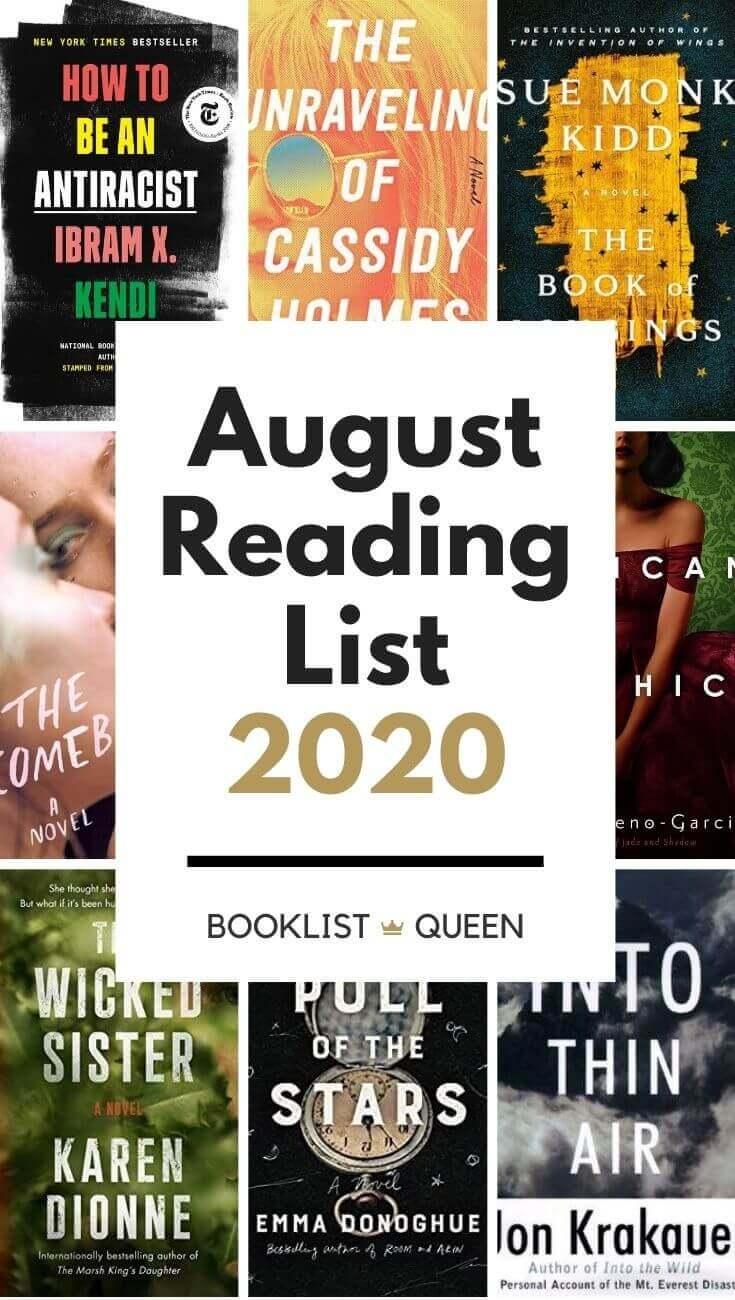 August Reading List 2020