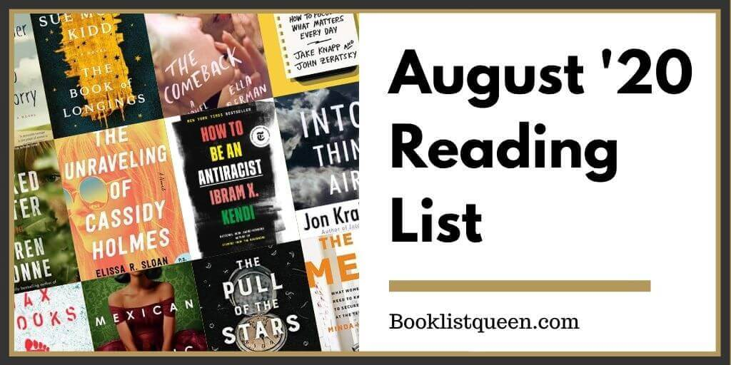 August 2020 Reading List