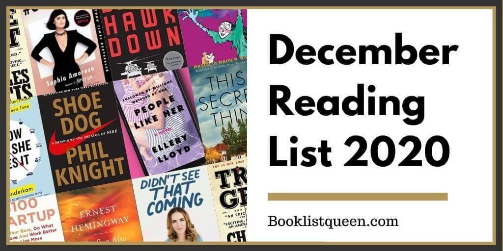 December Reading List 2020