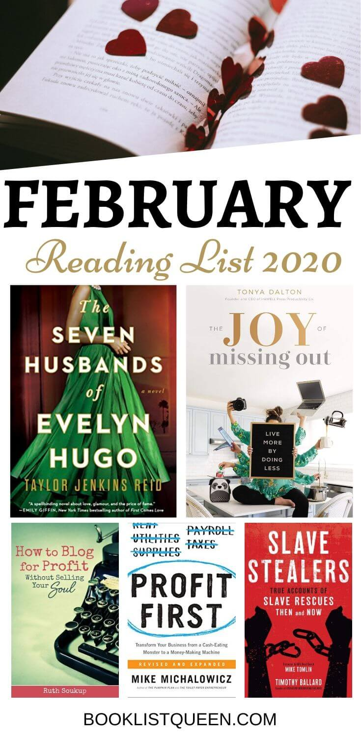 Reading Lately: February 2020