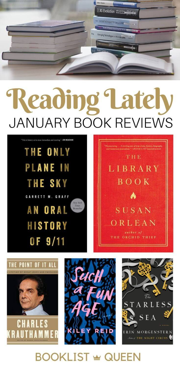 Reading Lately: January Book Reviews