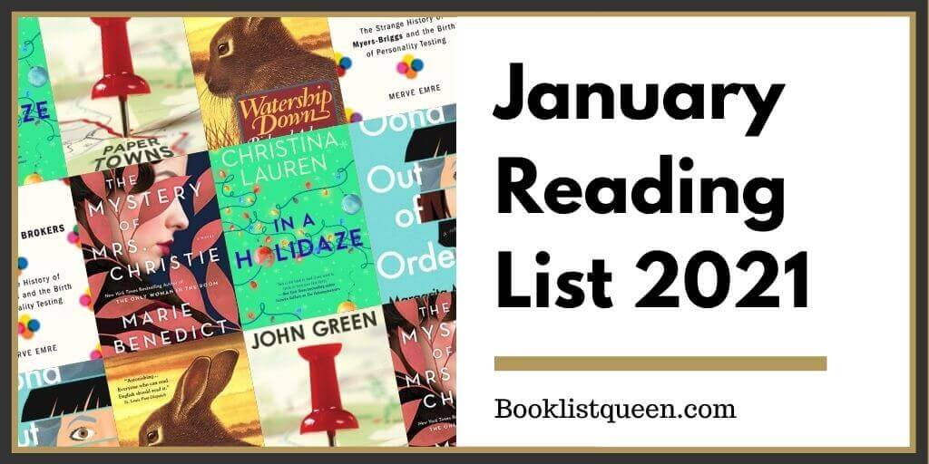 January Reading List 2021
