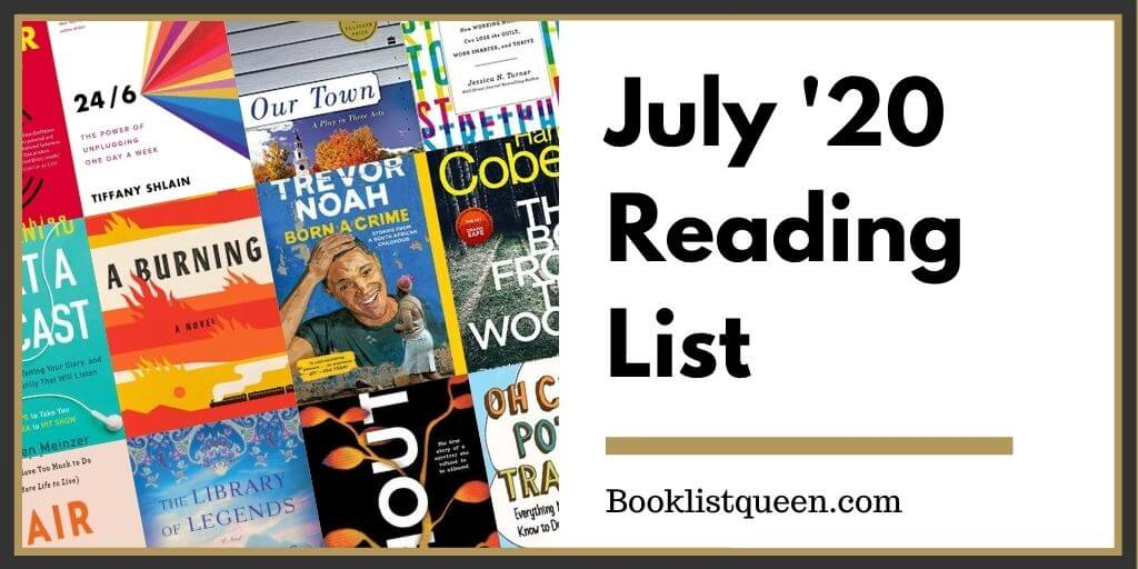 July Reading List 2020