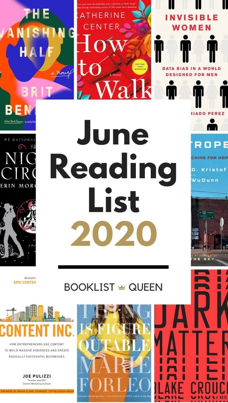 Reading Lately June 2020