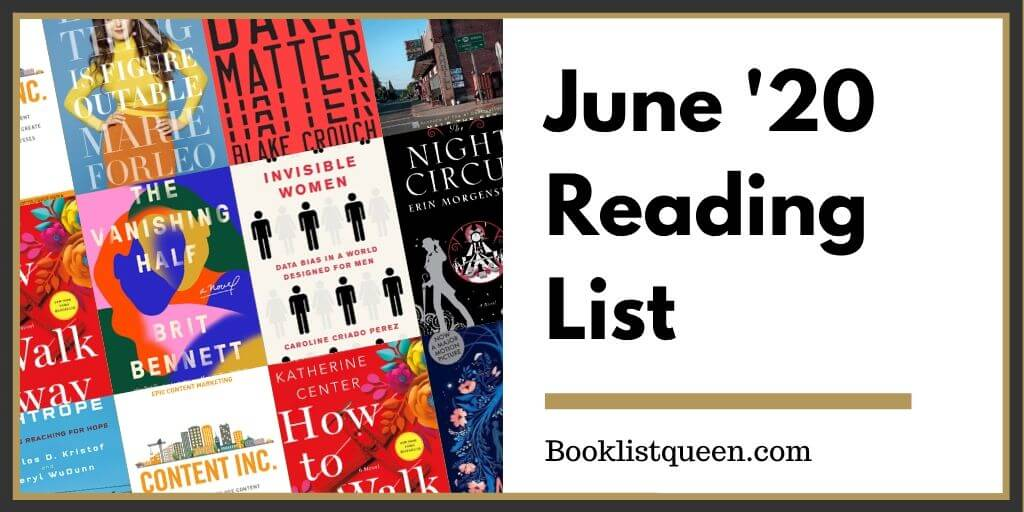 Reading Lately June 2020