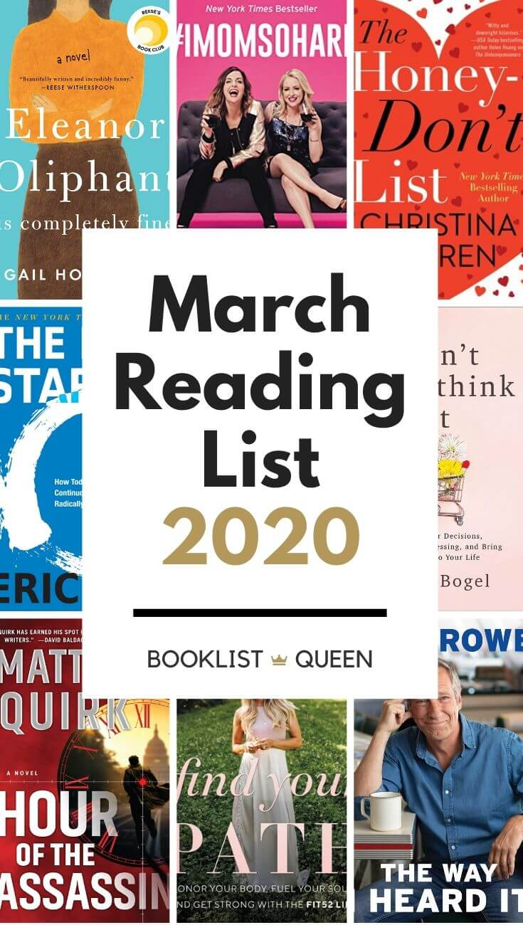 March Reading List 2020