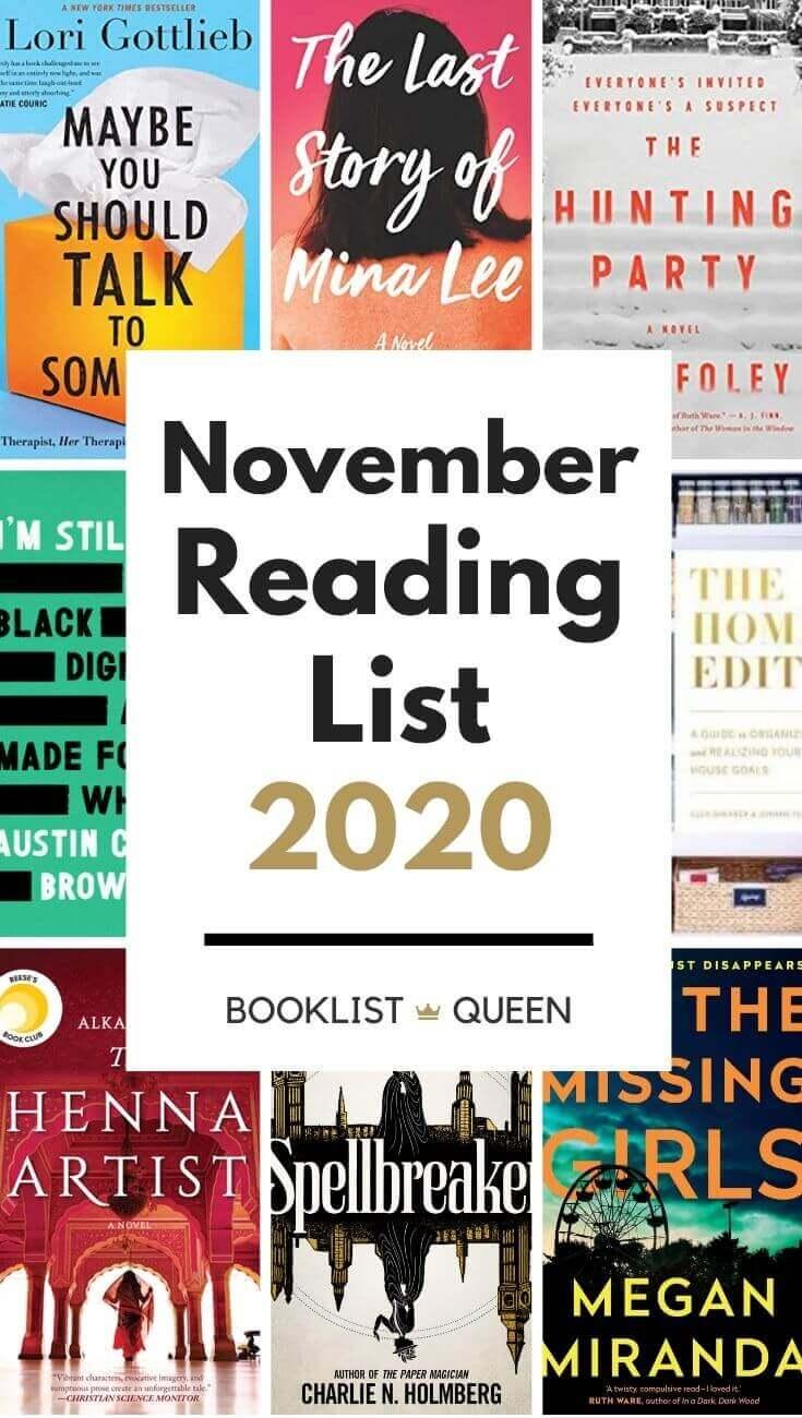 November Reading List 2020