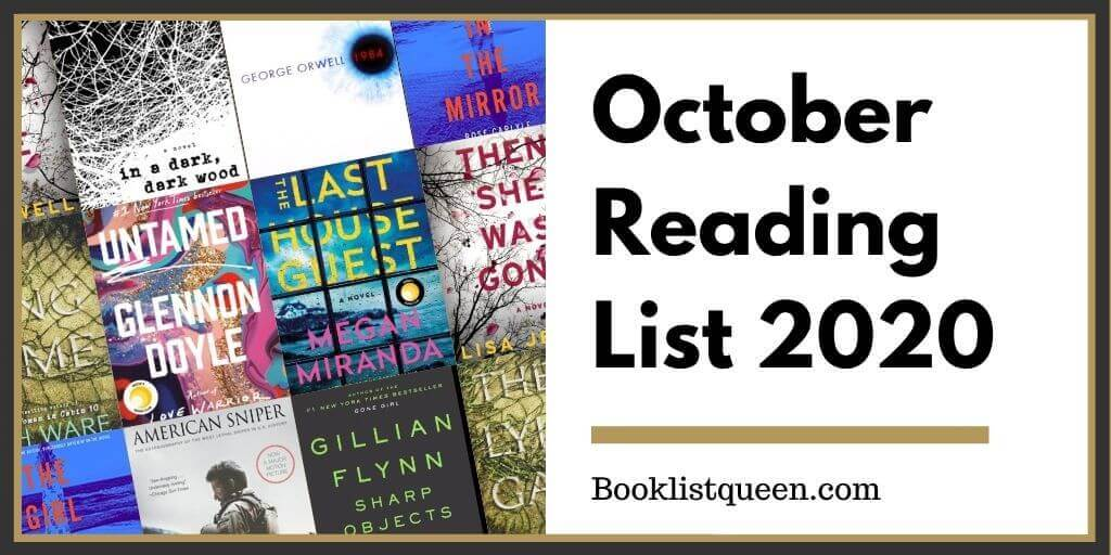 October Reading List 2020