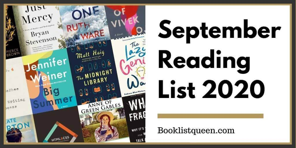 September Reading List 2020