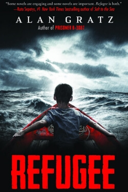 book cover Refugee by Alan Gratz
