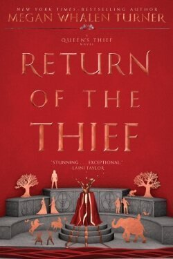 book cover Return of the Thief by Megan Whalen Turner