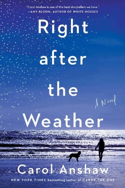 book cover Right After the Weather by Carol Anshaw