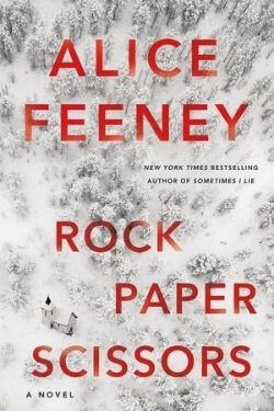 book cover Rock Paper Scissors by Alice Feeney