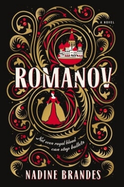 Book cover for Romanov by Nadine Brandes